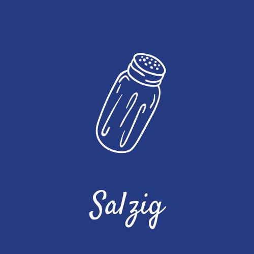 Salzige Speisen