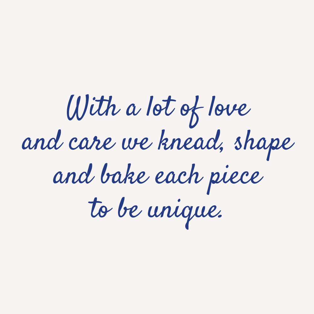 quote handicraft knead shape bake