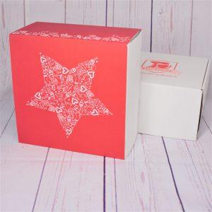 Naschbox Banderole Weihnachten