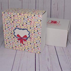 Naschbox Banderole Geschenk